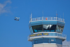 What is normally the Busiest Control Tower