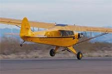 Crosswind in a Cub